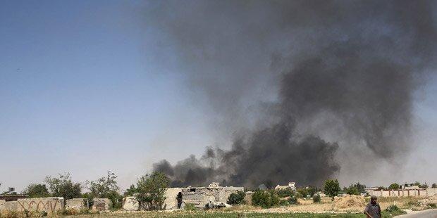 Mindestens 47 Tote bei Luftangriffen in Syrien