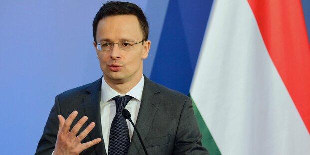 Ungarns Außenminister: