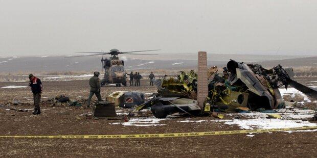 Vier Tote bei Helikopterabsturz nahe Ankara