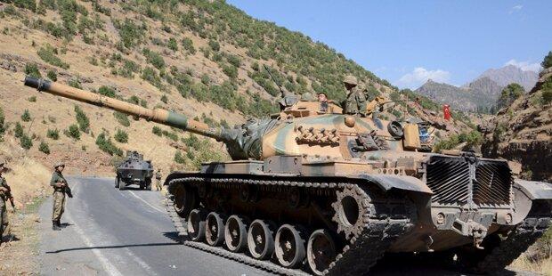 30 kurdischen Rebellen getötet
