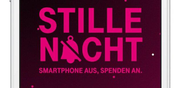 T-Mobile spendet für lautlose Handy-Minute