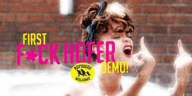 "Kostet ""F*ck Hofer Demo"" VdB den Sieg?"