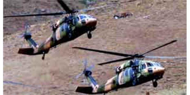 Türkei bombadiert erneut PKK-Rebellen