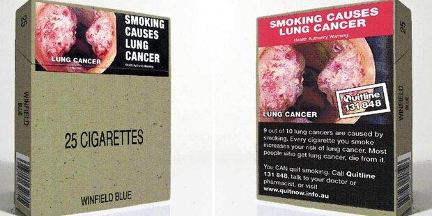 Zigaretten: Jetzt kommen die Schockbilder