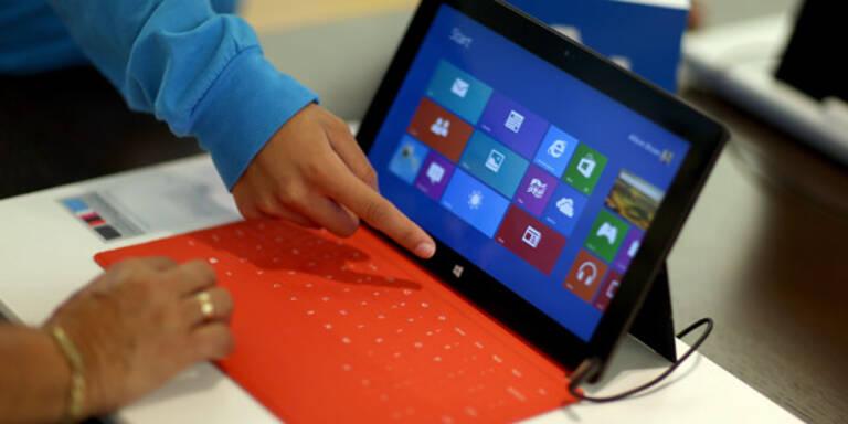 Microsoft zieht Update für RT-Tablets zurück