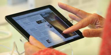 Tablet-Computer bei uns auf dem Vormarsch