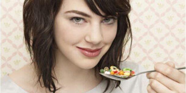 Pillen und Lebensmittel als Feinde