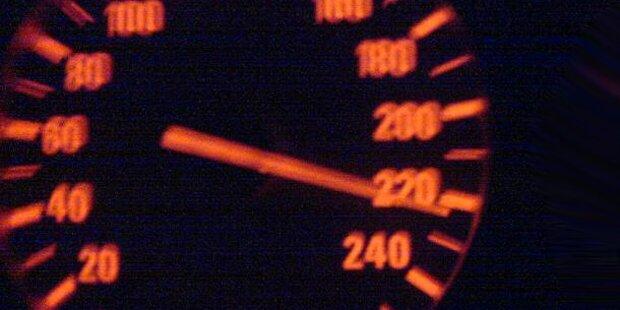 Raser auf der S6 mit 208km/h unterwegs