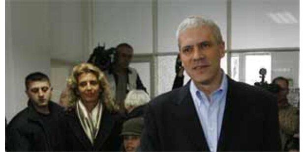 Tadic hat Präsidentschaftswahl in Serbien gewonnen