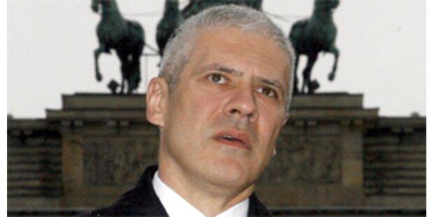 Fischer hielt Laudatio für Serbiens Staatschef