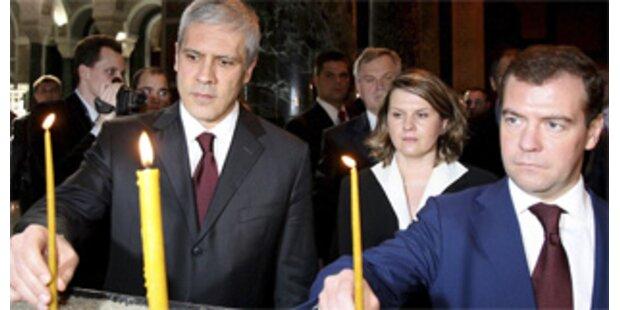 Moskau stellt sich in Kosovo-Frage hinter Serbien