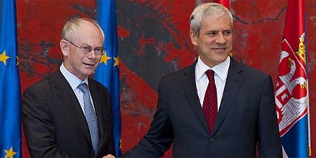 EU öffnet Serbien Tür zu Verhandlungen
