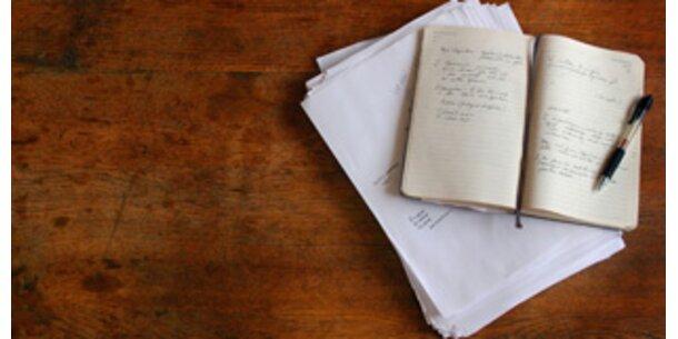 Tagebuch baut Kummer und Stress ab