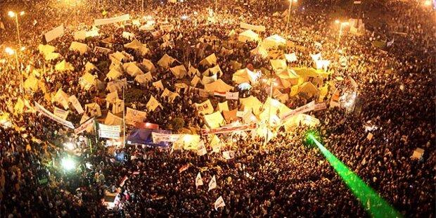 Ägypten: Größte Demo seit Sturz von Mubarak