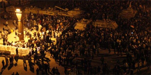Tahrir-Platz trotz Schüssen weiter besetzt