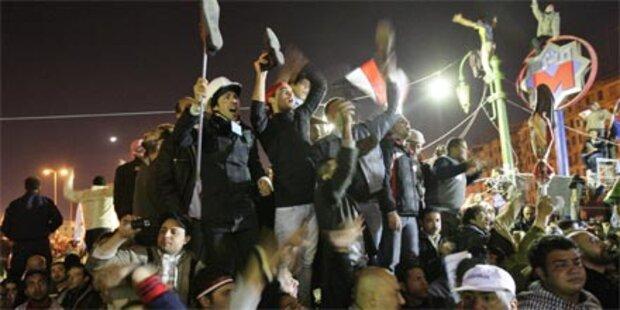 Mubarak tritt zurück
