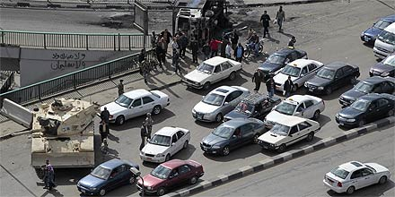 Kairo Brücke des 6. Oktober