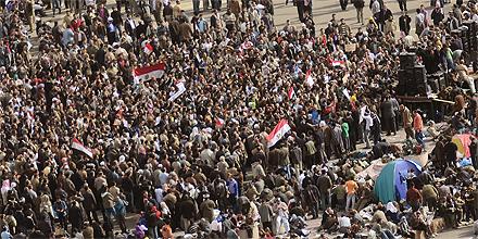 Tahrir Platz (Freitagmorgen)