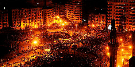 Tahrir Platz in Kairo (Donnerstag)