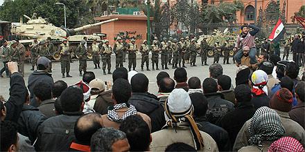 Kairo - Proteste am Tahrir-Platz