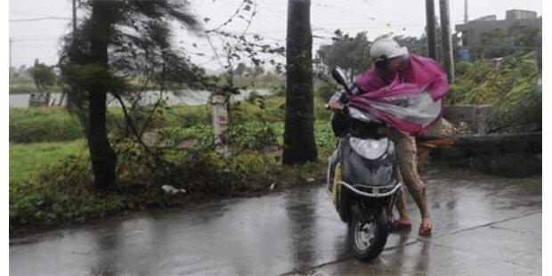 Taifun wütet in Taiwan - 6 Tote