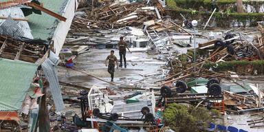 Österreich hilft Taifun-Opfern