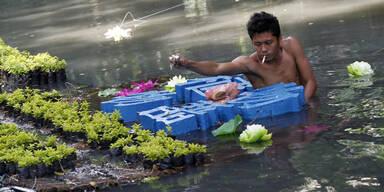 Neuer Super-Taifun rollt auf Philippinen zu