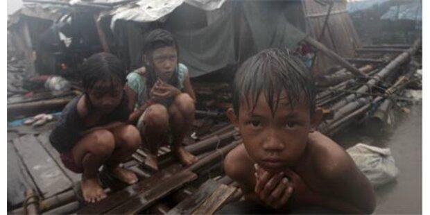 Taifun wütet auf Philippinen