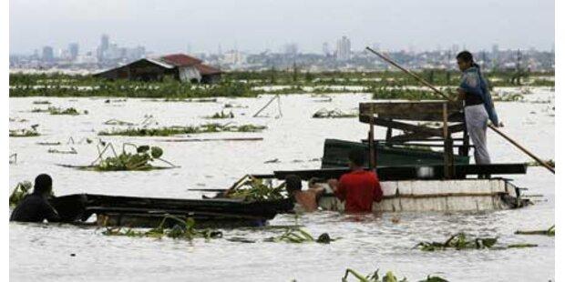 Taifun auf den Philippinen - elf Tote