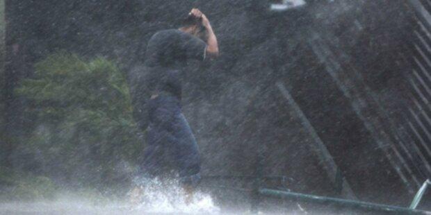 Super-Taifun: Jetzt schon zehn Tote