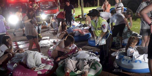 Explosion in Freizeitpark: 500 Verletzte