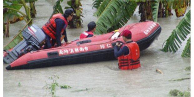 Mindestens 18 Tote bei Tropensturm in Taiwan