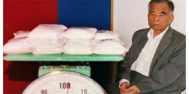 90-jähriger Taiwanese muss 10 Jahre hinter Gitter