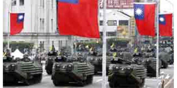 Taiwan demonstriert militärische Stärke