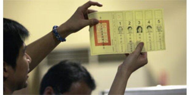 Wahldebakel der Regierungspartei in Taiwan