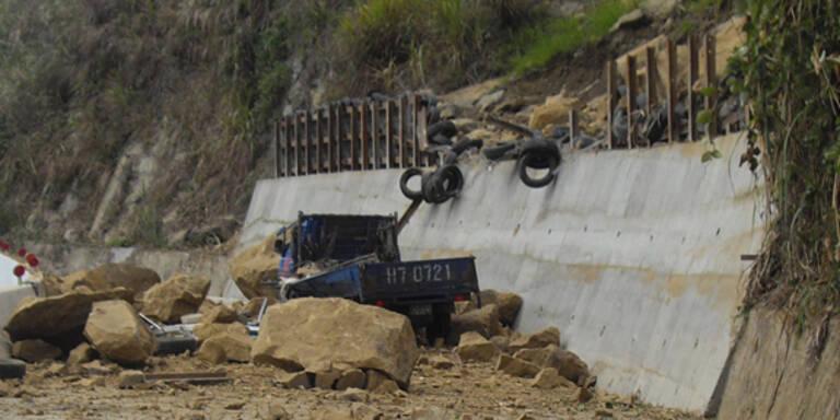 Eine Tote bei Erdbeben in Taipeh