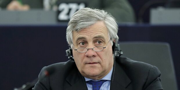 Tajani neuer EU-Parlamentspräsident