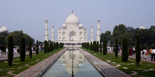 Tourismus-Einbruch in Indien