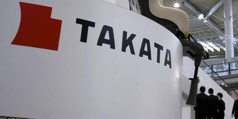 Takata könnte in Insolvenz schlittern