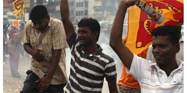 Tamilen-Rebellen legten Waffen nieder