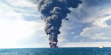 Tanker-Unglück: Ölteppich verdreifacht