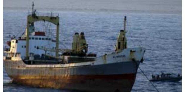 Somalische Piraten gaben Tanker nach 6 Wochen frei