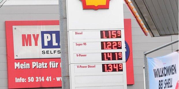 Diesel-Steuervorteil betrug 700 Mio. €