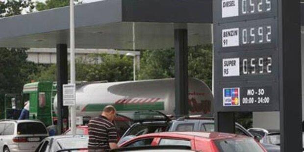 Tankstellen-Räuber flüchtet mit Fahrrad