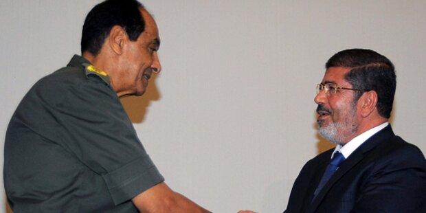 Mursi entlässt Verteidigungsminister