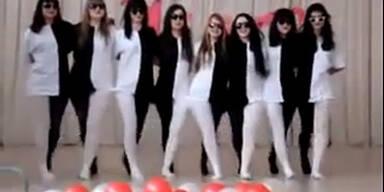 Tanz Optische Illusion