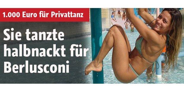 Sie tanzte halbnackt für Berlusconi