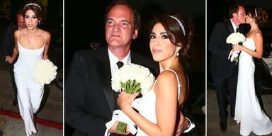 Tarantino hat Model-Freundin geheiratet