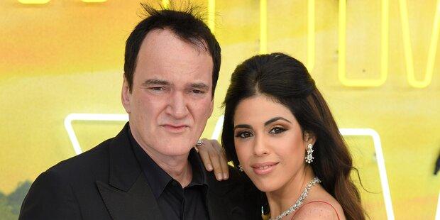 Quentin Tarantino wurde mit 56 zum ersten Mal Vater