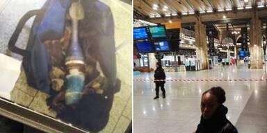 Bahnhof in Paris wegen Bomben-Alarms evakuiert